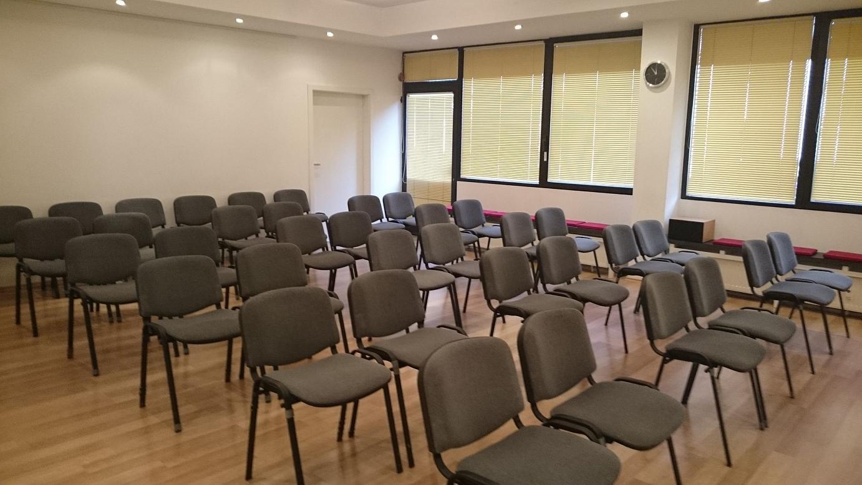 Seminarraum Bestuhlung