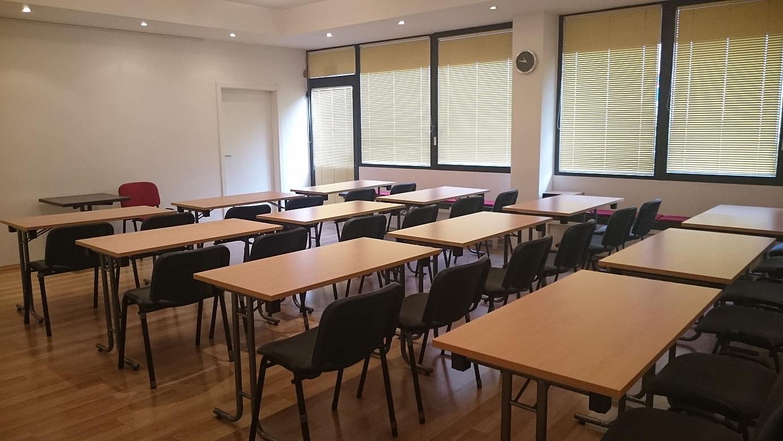 Seminarraum Tische